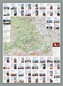 Harta de perete - Transilvania