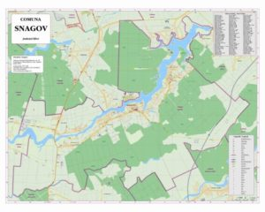 Harta Snagov - MapExpert